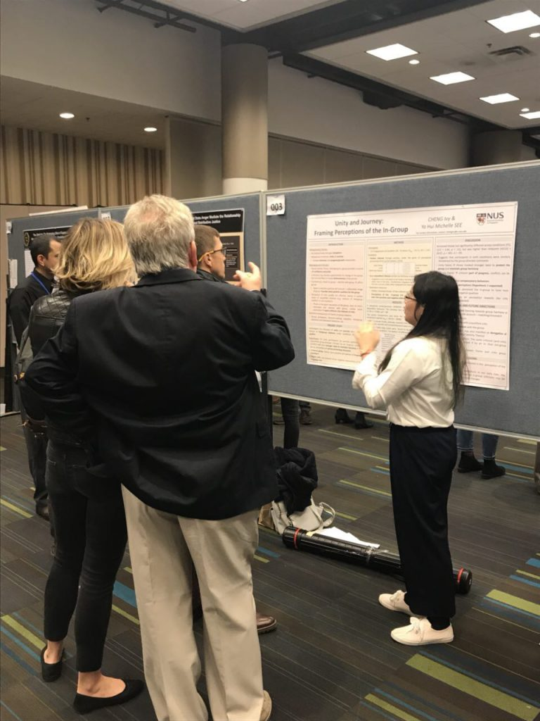 Psychology Student Ivy Cheng Wins Runner-Up for SPSP 2018 Undergraduate Student Poster Award!