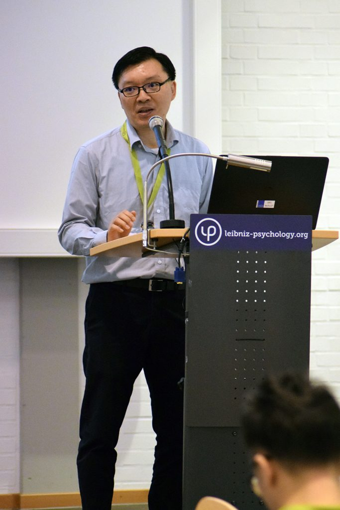 A/P Mike Cheung gave two invited keynotes