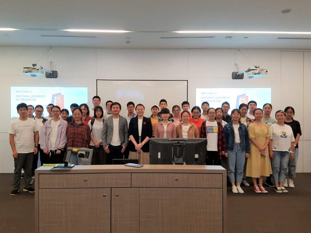 Instructor Sarah Wong and Assoc Prof Stephen Lim's Invited Talk at NUS SCALE's Leaders of Tomorrow Programme 2019