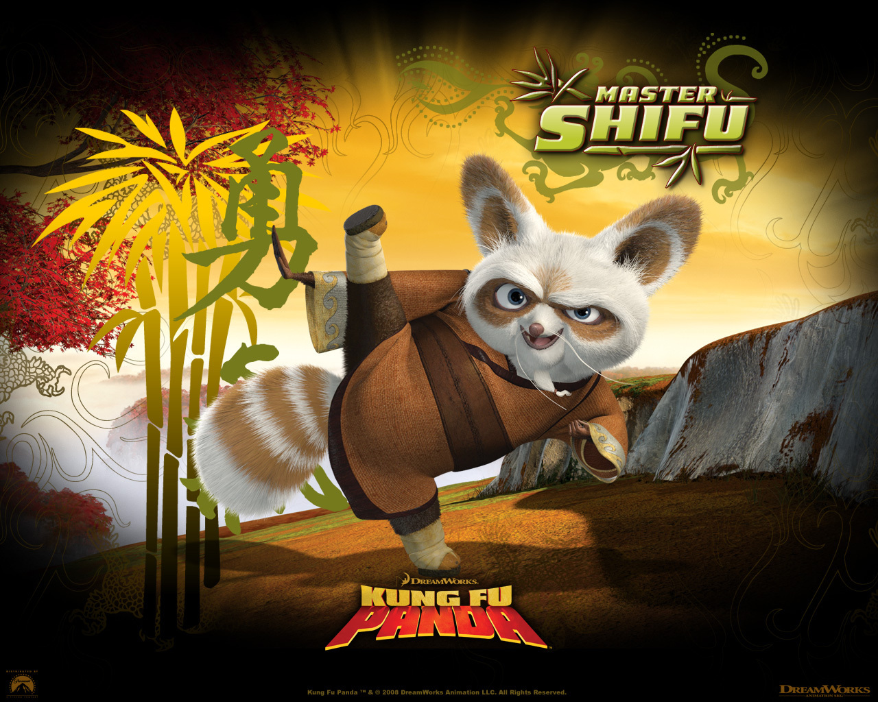 The original mma champion red pandas - Kung fu panda shifu ...