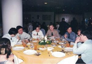 With colleagues (1998)