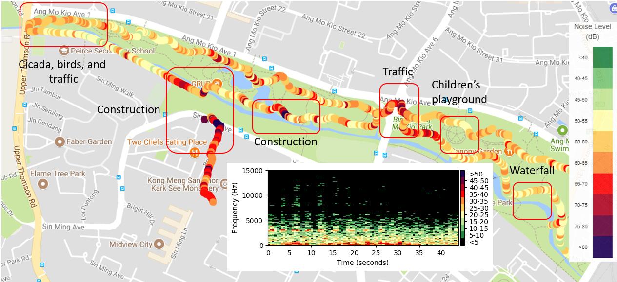 Bishan Noise Map