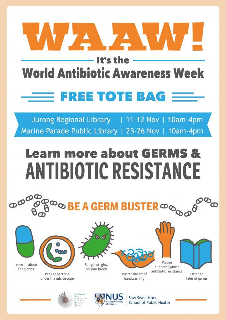 It's World Antibiotic Awareness Week!