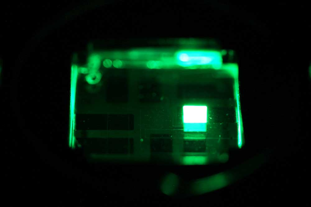 Green Perovskite LED