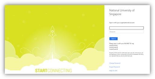 NUS rocket page login