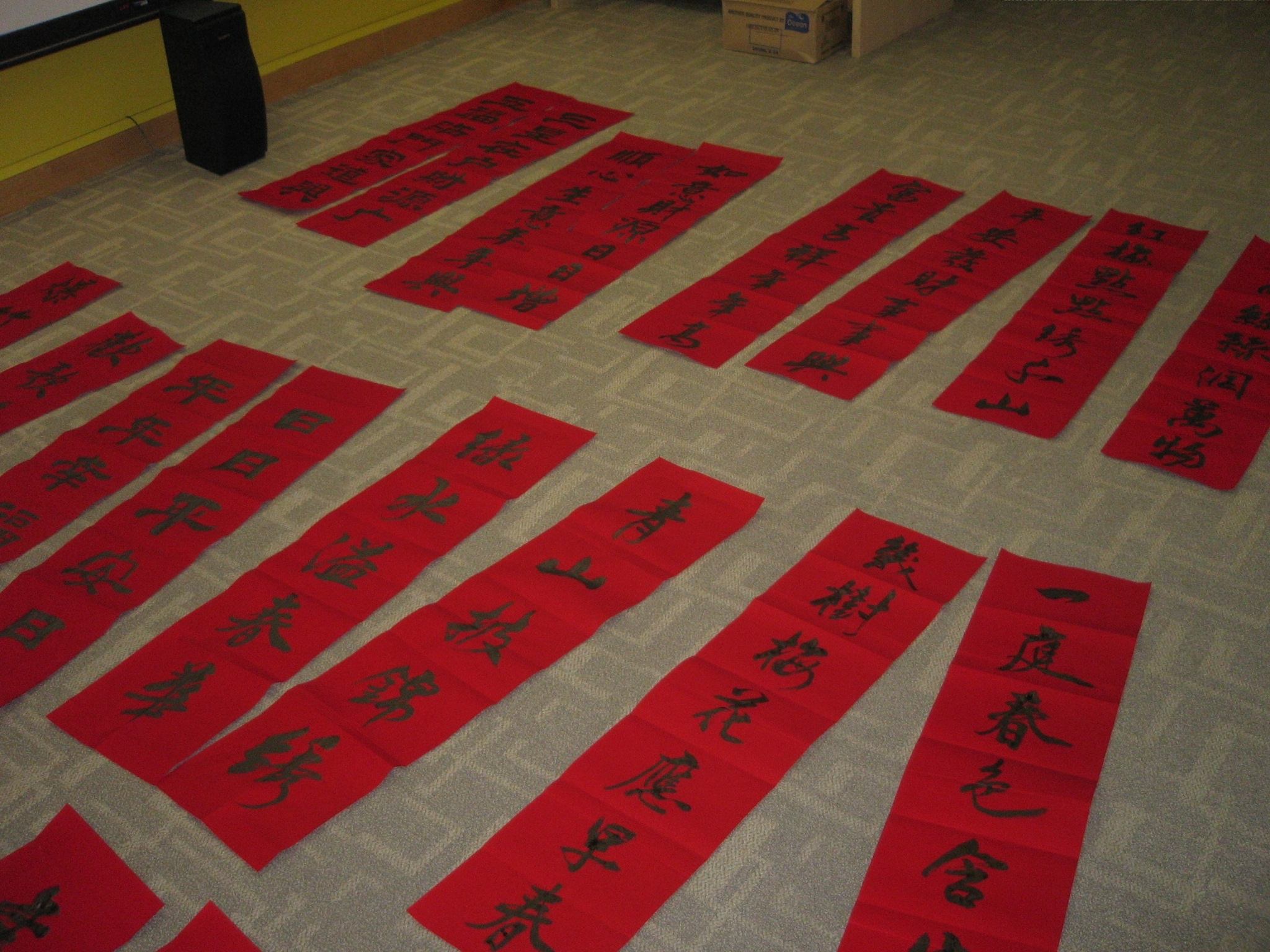 Writing up a storm for chinese new year linus nus libraries blog and used as chinese new year decorations are seen as messages of hope fulfillment and happiness for the new year and in the worst of times kristyandbryce Gallery