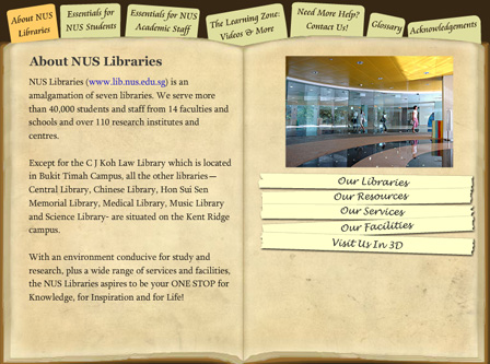 about NUS Libraries