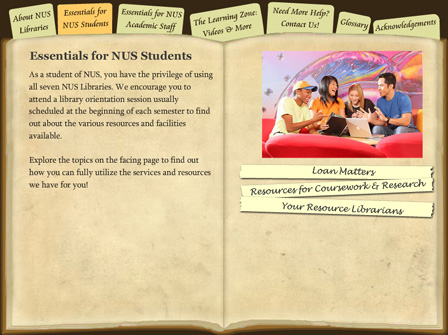 Essentials for NUS Students
