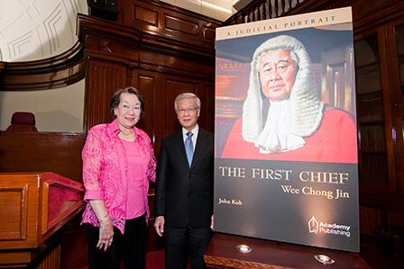 Mrs Wee Chong Jin & the Guest of Honour, Chief Justice Chan Sek Keong