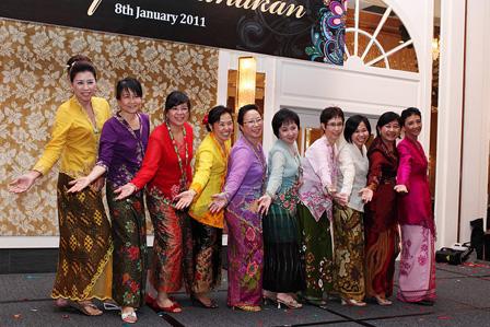 Ladies in kebaya