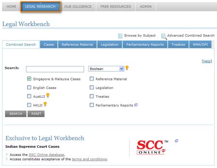 Lawnet legal research