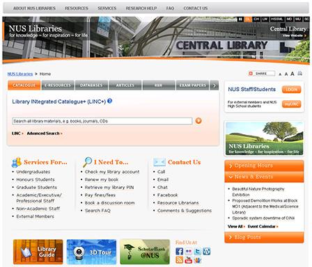 Beta library portal