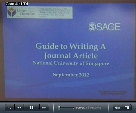 writing a publishable article