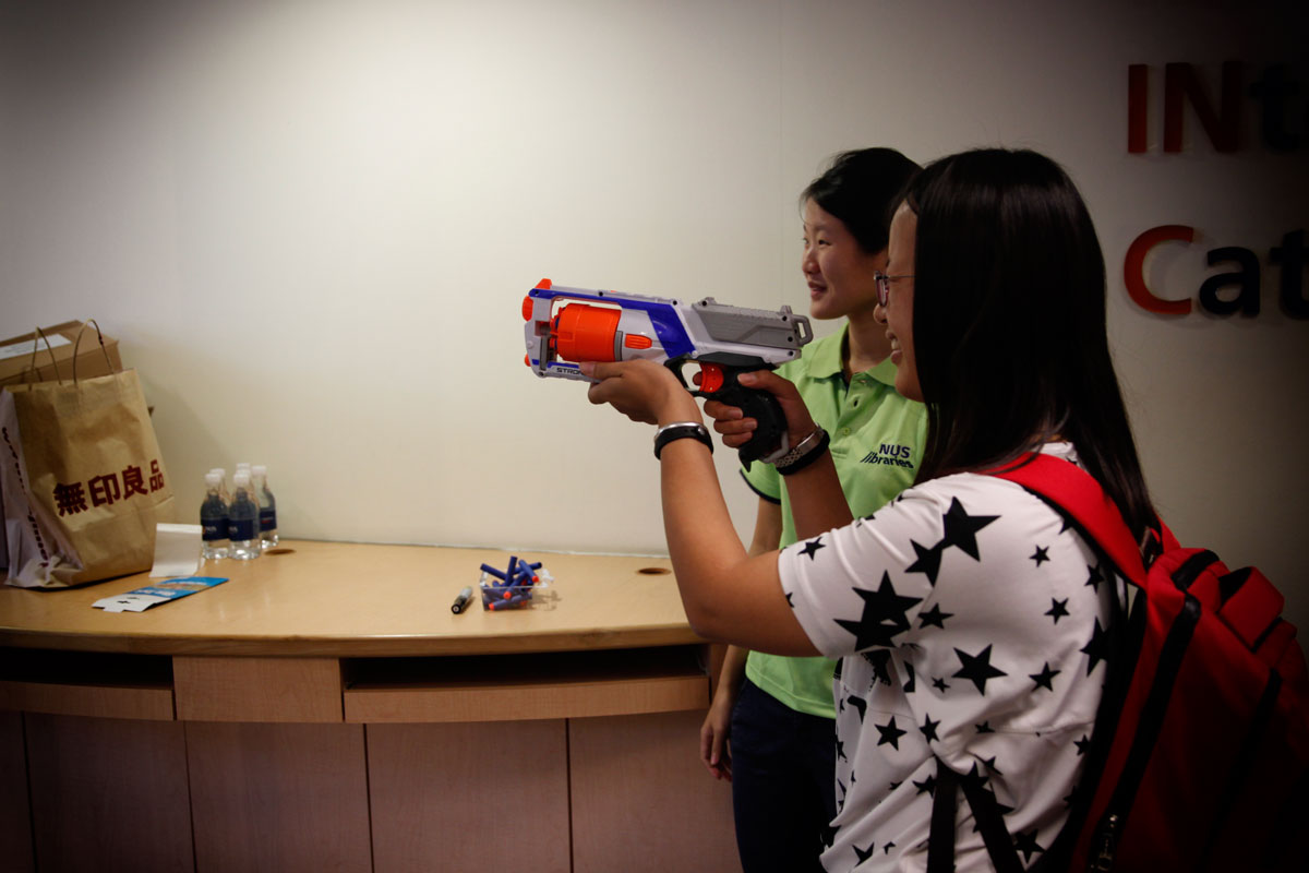 We know you enjoyed the game Nerf Nerds. It lasted a short 2-hour but we saw nearly 90 participants.