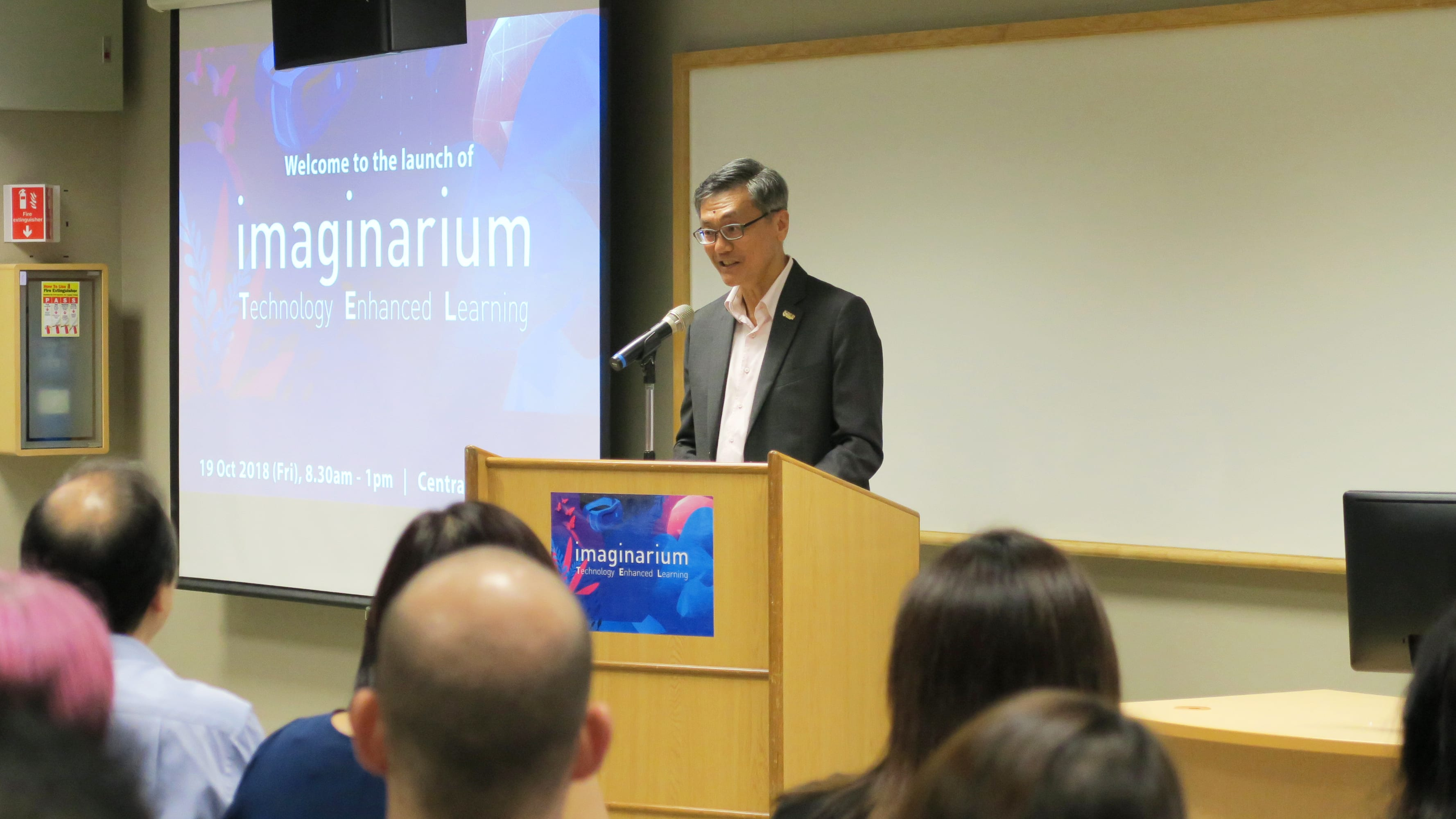 Prof Tan speaks