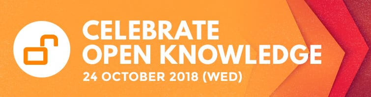 Celebrate Open Knowledge with NUS Libraries