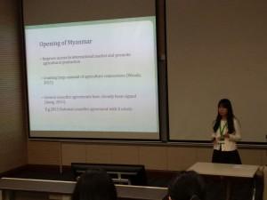 Yuchen presenting
