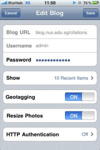 wordpress-mobile-setup