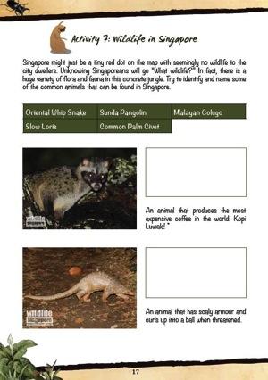 Wildlife in Sg  1