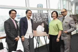 Lucas Ho, Joel Tan, Claire Wong and Huzir Sulaiman