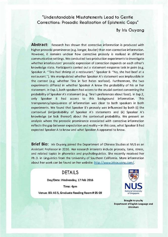 Seminar  17.02.2016