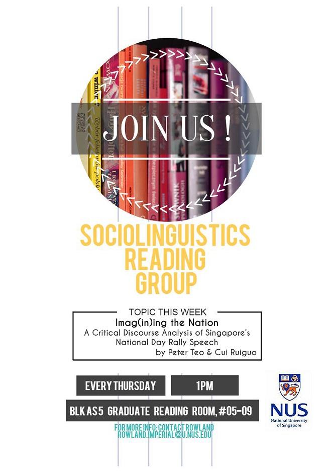 Sociolinguistics Reading Group 18.02.2016