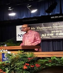 DPM Mr Tharman Shanmugaratnam