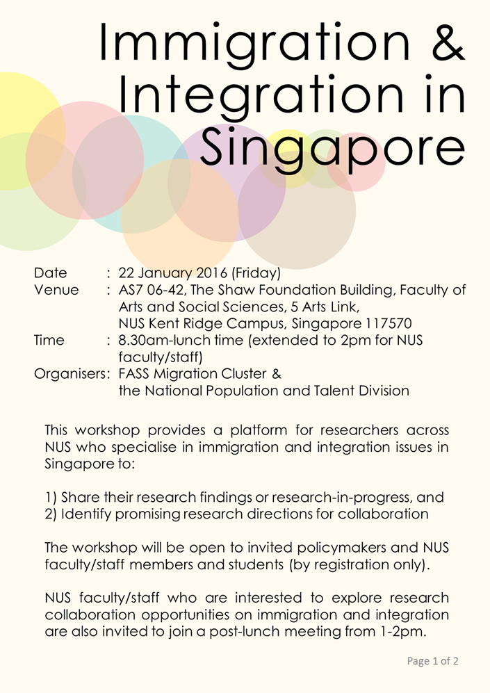 immigration and integration in sg p1