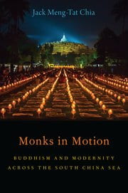 monks in motion by jack chia