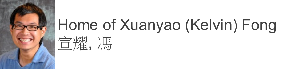 Home of Xuanyao (Kelvin) Fong