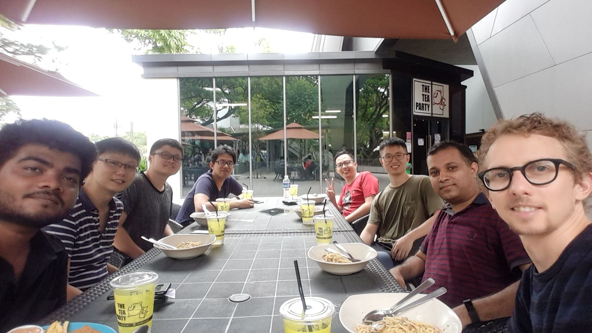 Group lunch. Jan 2019.