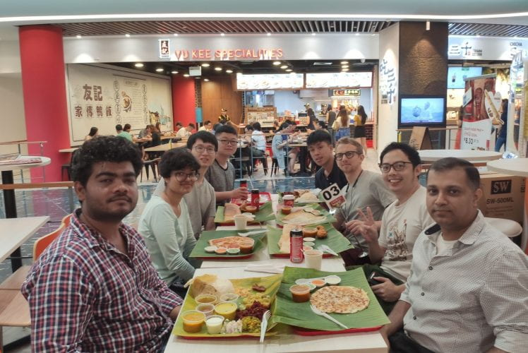 Group lunch. Nov 2019.