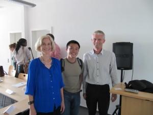 Matha Nussbaum, Shaun Oon, Forum Scientiarum Director