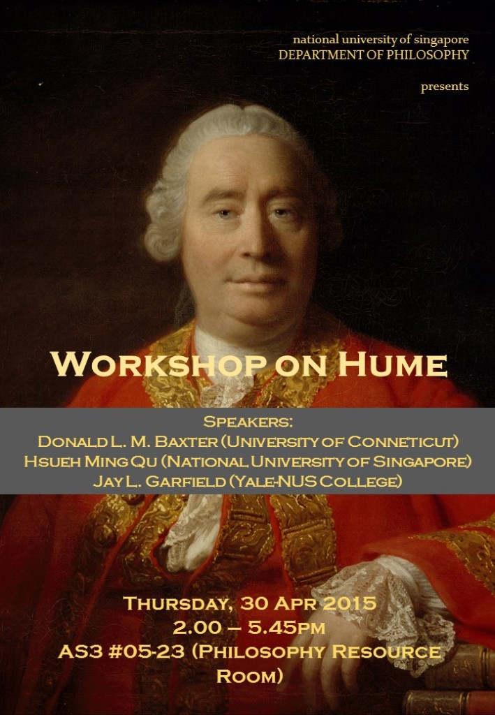 Hume Workshop Poster