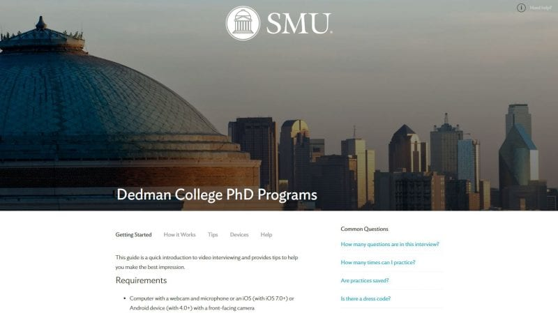 Doctoral program essay