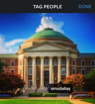 Instagram Tagging
