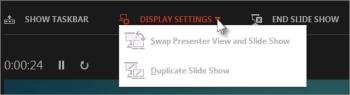 swap screens ppt2013