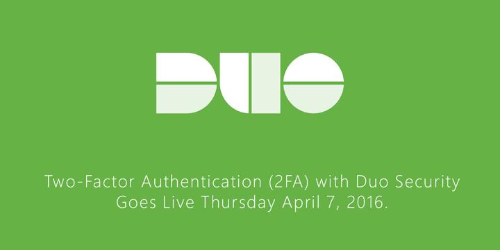 Duo Goes Live Thursday April 7.