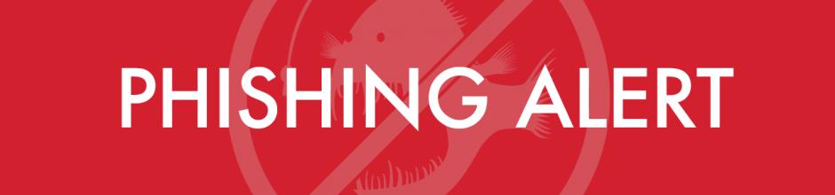 Phishing Alert: Read this message