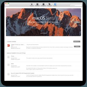 Apple Store App Update Screenshot