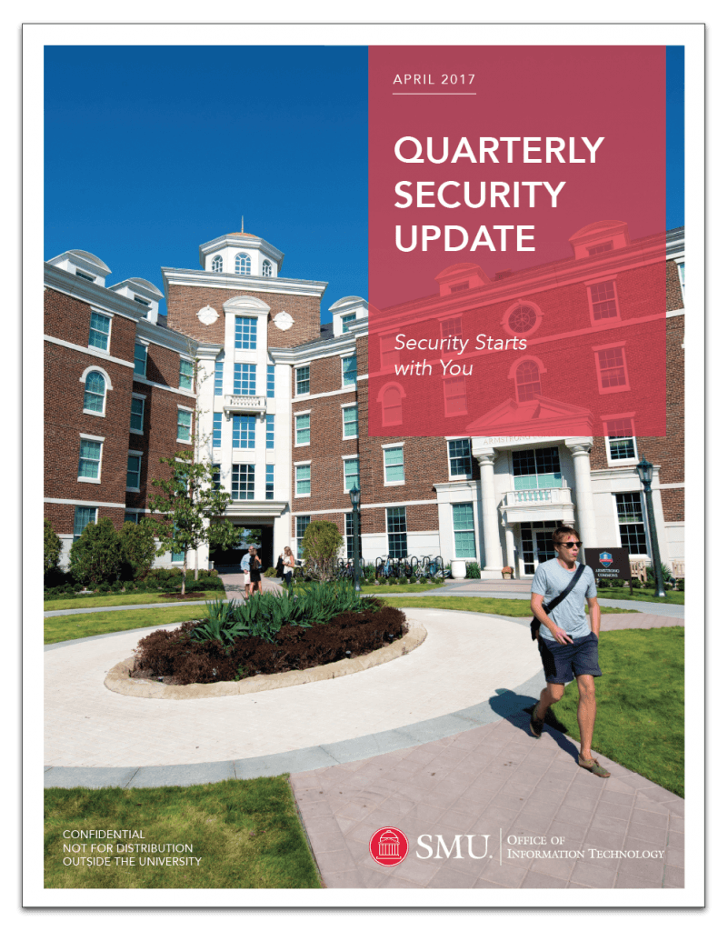Quarterly Security Update Cover