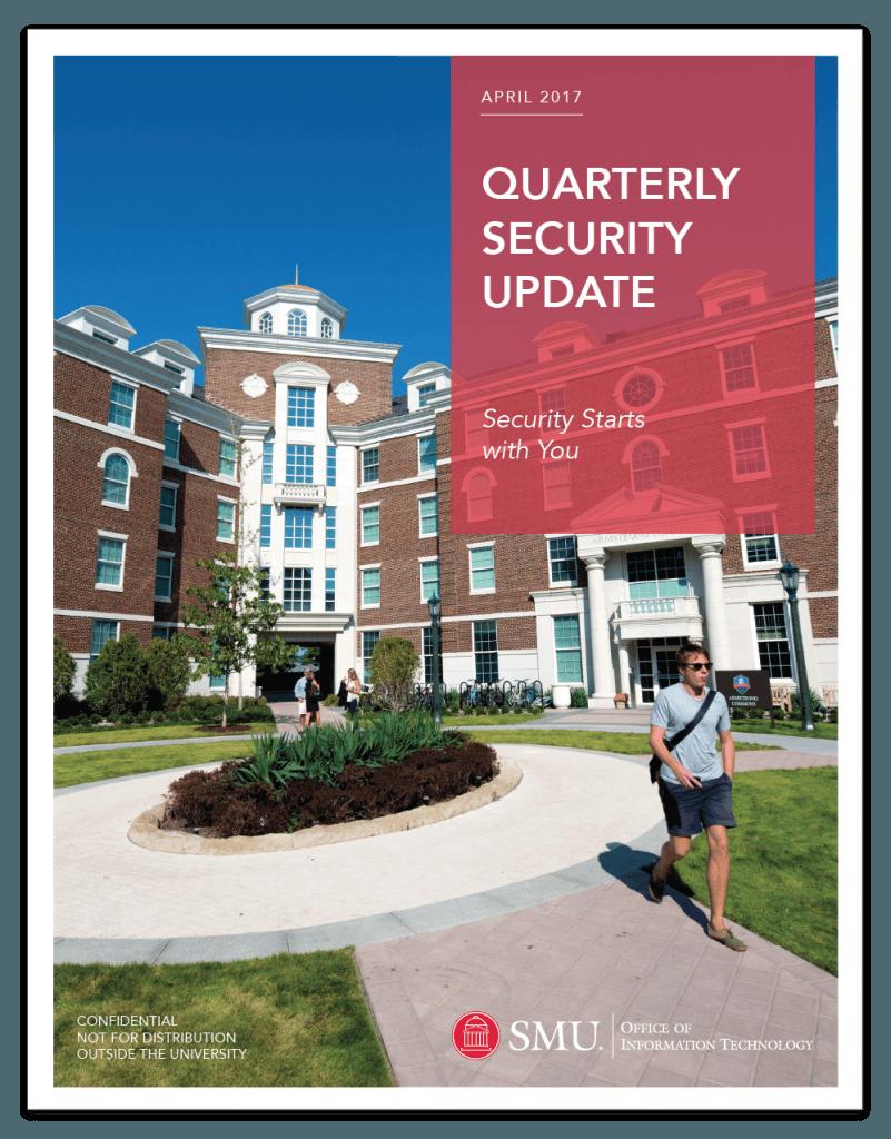 OIT Quarterly Security Update (April 2017)