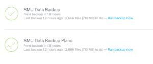 Details of Backup