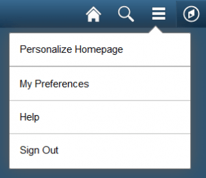Personalize Homepage Link