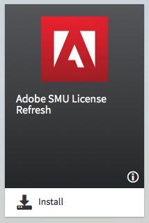 Adobe SMU Licenses Refresh