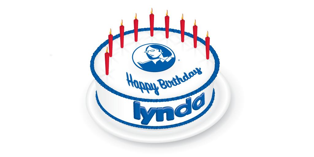 Lynda Weinman's birthday cake