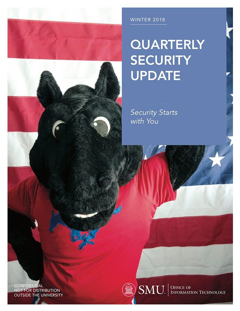 OIT Winter 2018 Security Report