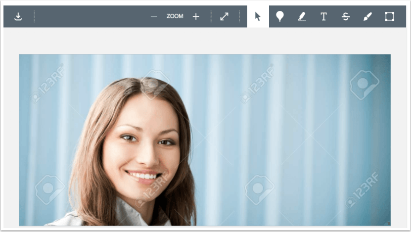 A picture in Canvas showing a picture in speedgrader files submitted