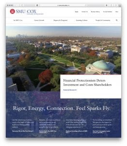 Cox School of Business Homepage