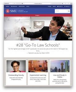 Dedman School of Law Homepage